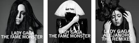 Lady Gaga's black and white album series