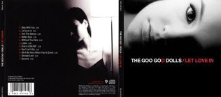 Front and back covers for Let Love In, by the Goo Goo Dolls