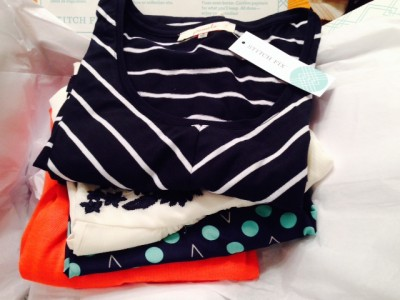 my first Stitch Fix clothing
